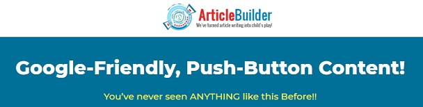 Article Builder Group Buy 2020