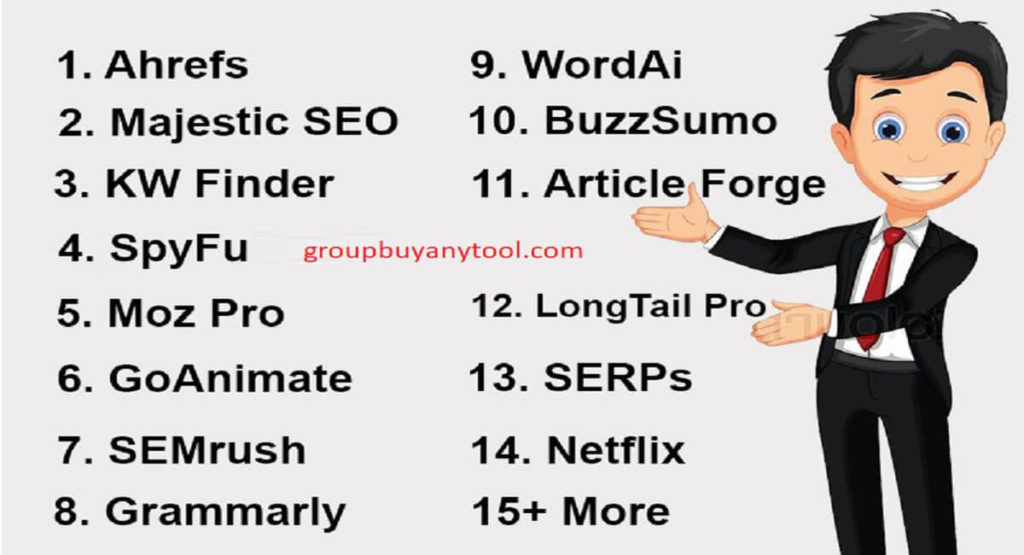 Premium SEO Tools Group Buy