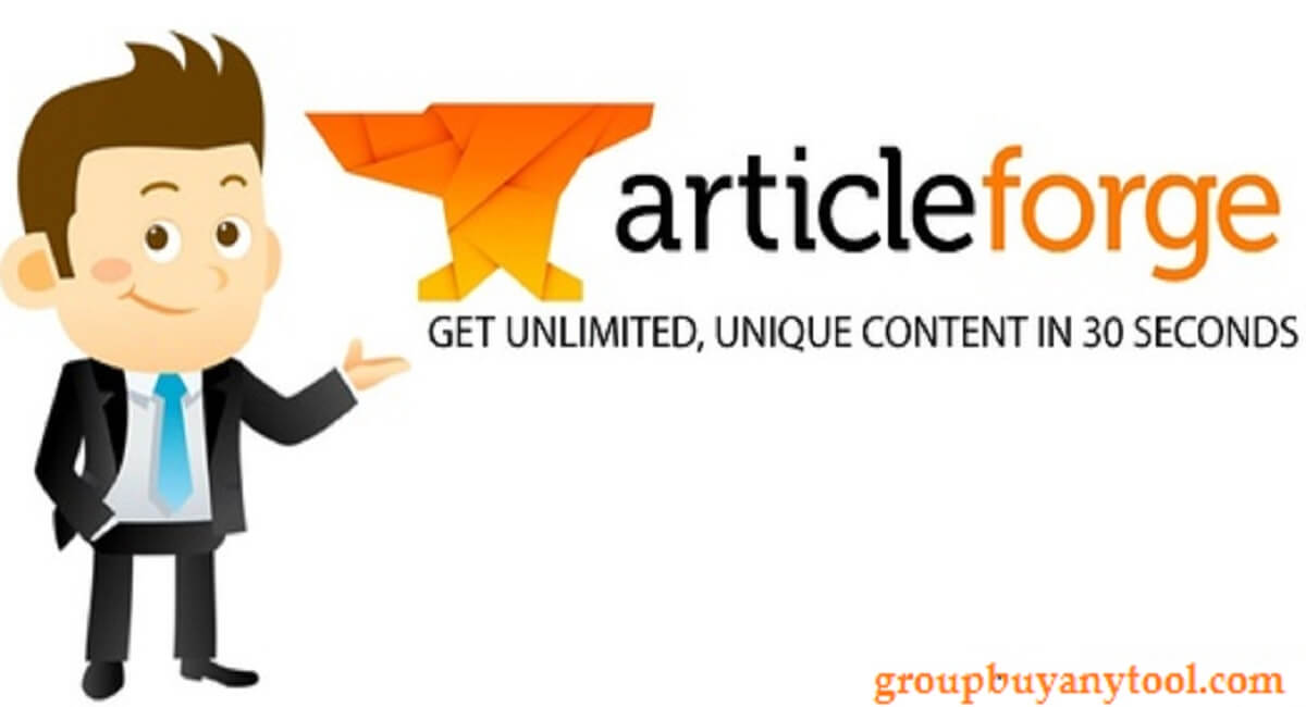 Article Forge Group Buy - Get Unique Contents in 30 Seconds